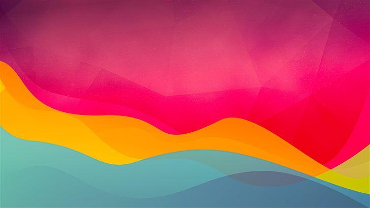 abstract 8k Mac Wallpaper