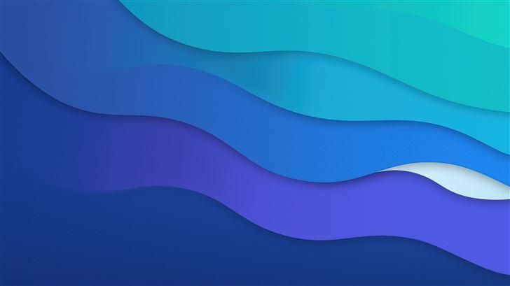waves dark alt 8k Mac Wallpaper