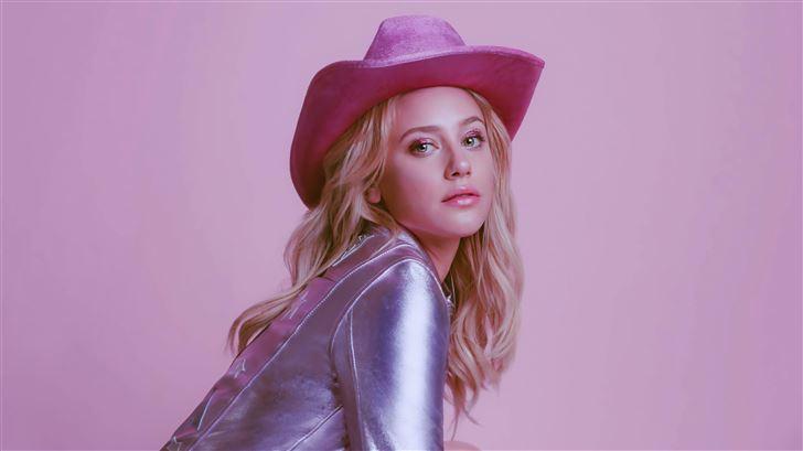 lili reinhart pink day 5k Mac Wallpaper