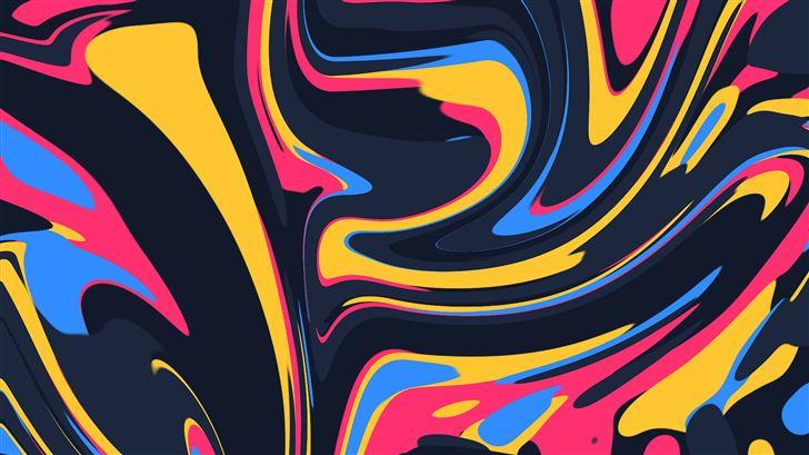 abstract color art 8k Mac Wallpaper
