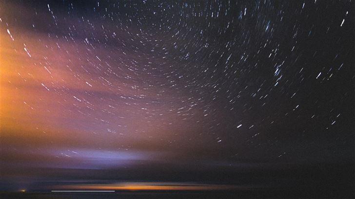 under the spinning stars Mac Wallpaper