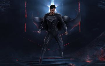 powerful superman jl 5k All Mac wallpaper