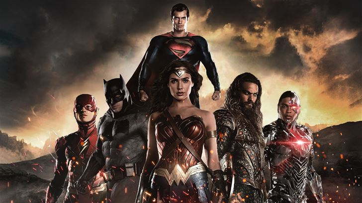 justice league heroes 5k Mac Wallpaper