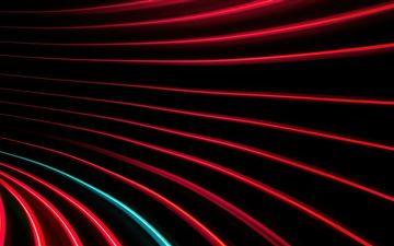 red and black swirl pattern 5k All Mac wallpaper