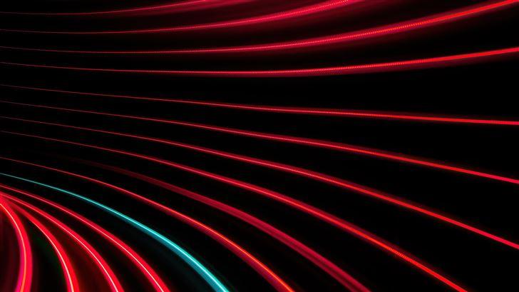 red and black swirl pattern 5k Mac Wallpaper
