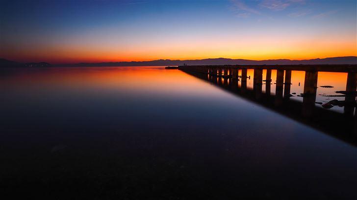 silent pier moment 8k Mac Wallpaper