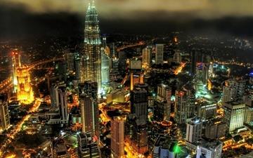 Kuala lumpur petronas towers Mac wallpaper
