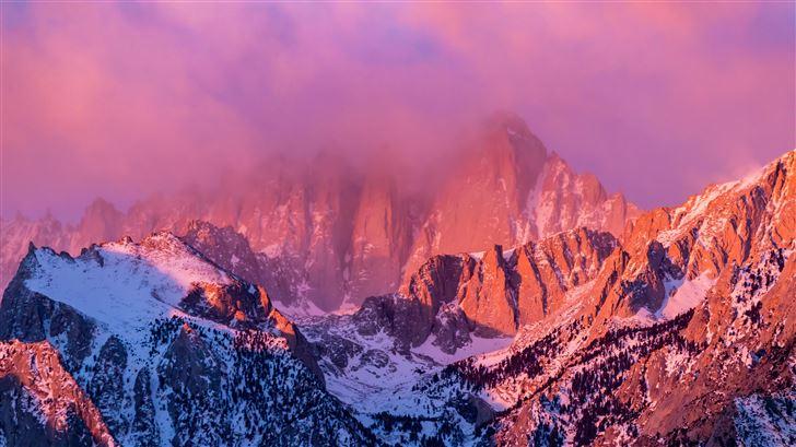 mount whitney in california Mac Wallpaper