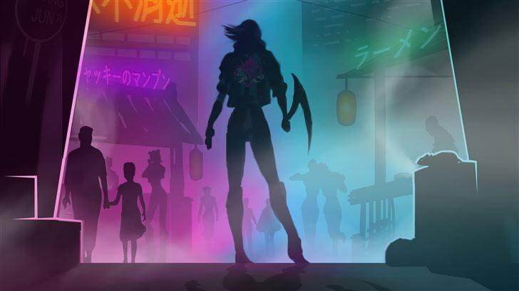 night city cyberpunk 2077 5k Mac Wallpaper
