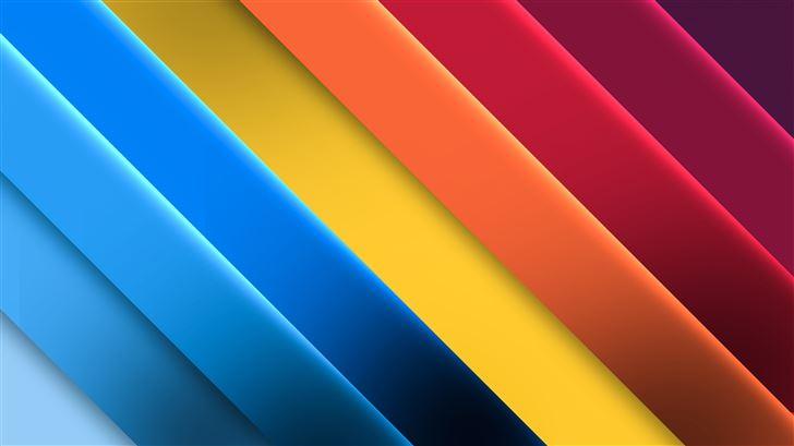 bright color palette 8k Mac Wallpaper