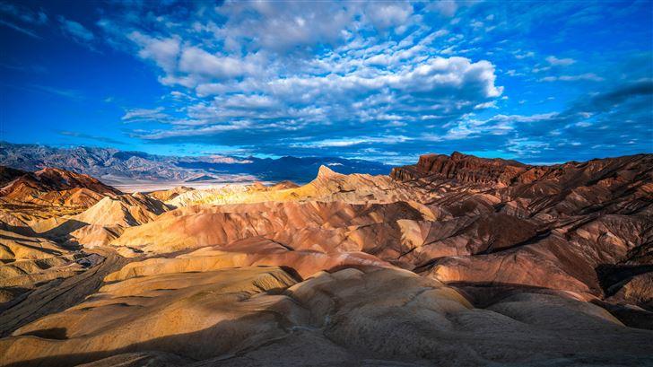 national park crag clouds usa 5k Mac Wallpaper