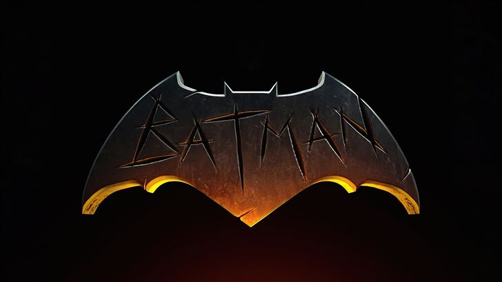 the batman logo dark 5k Mac Wallpaper