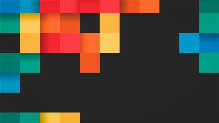 colorful grids 5k Mac Wallpaper