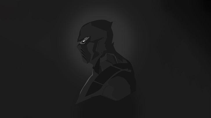 scorpion mortal kombat dark minimal 5k Mac Wallpaper