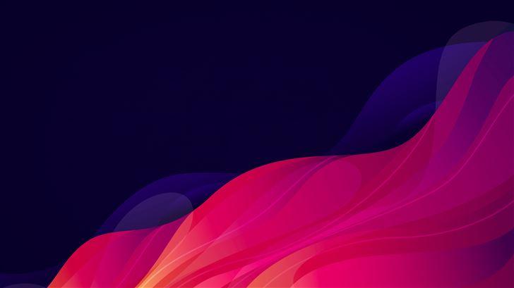 abstract waving 5k Mac Wallpaper
