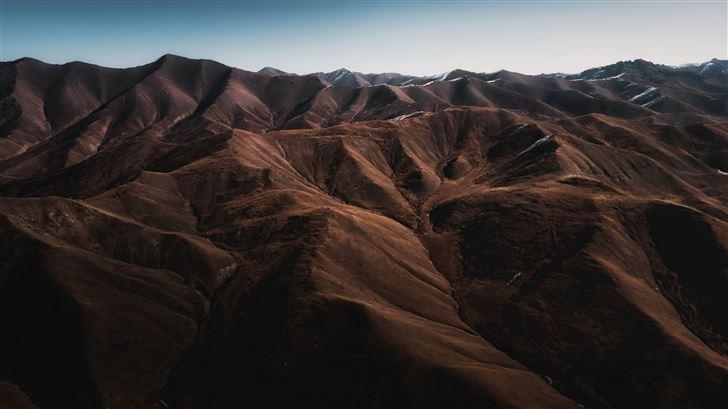 mountainscape top 5k Mac Wallpaper