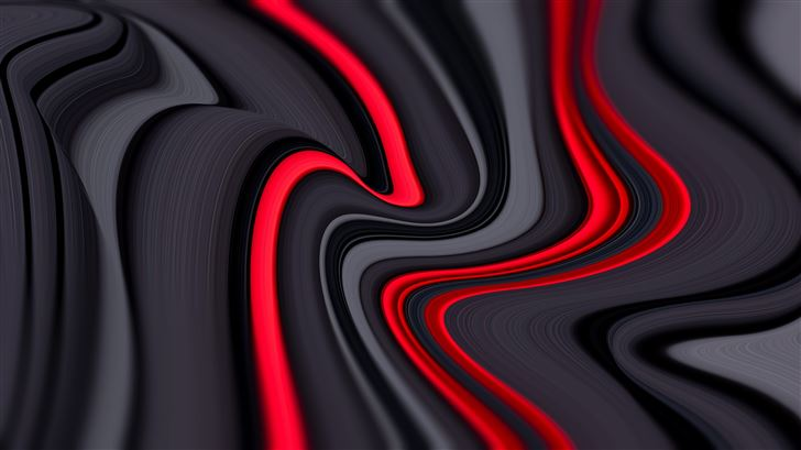 red inside grey design 8k Mac Wallpaper