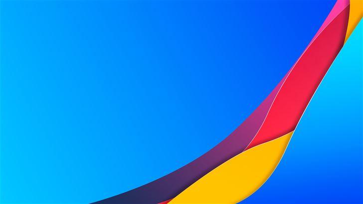 blue material scarf 8k Mac Wallpaper