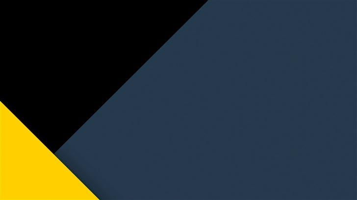 yellow dark minimal abstract 5k Mac Wallpaper