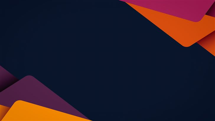 abstract shape cards 5k Mac Wallpaper