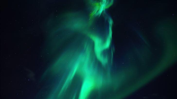 aurora northern lights 5k Mac Wallpaper