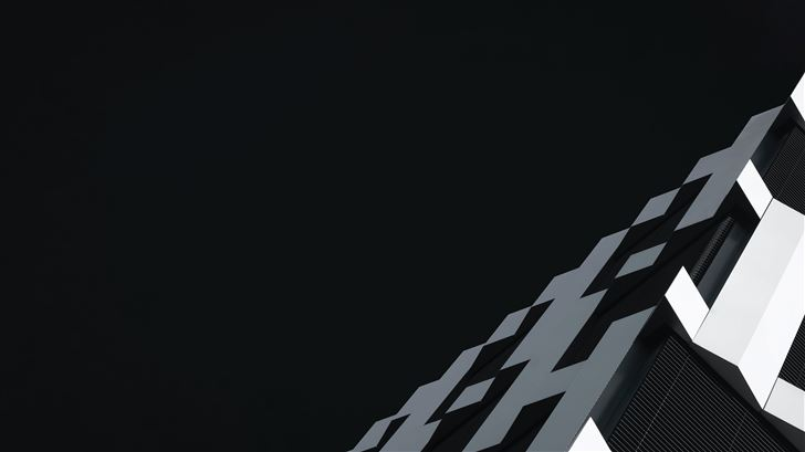 dark achitec 5k Mac Wallpaper