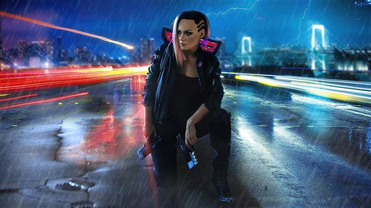 cyber punk 2077 Mac Wallpaper