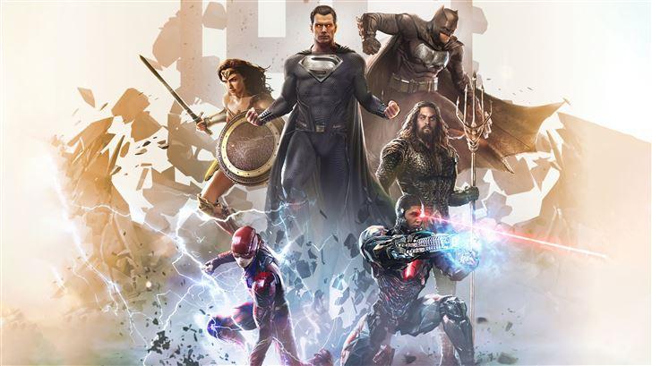 justice league unite again 5k Mac Wallpaper