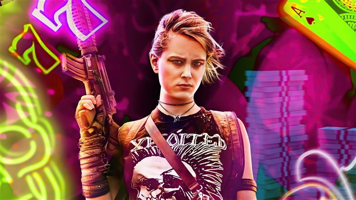 nora arnezeder as lily in army of the dead charact Mac Wallpaper