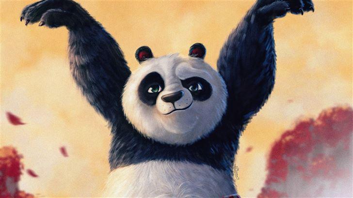 po from kung fu panda Mac Wallpaper