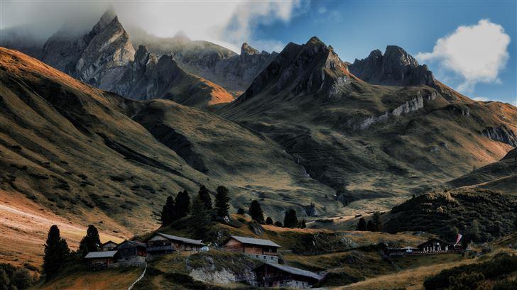 4k landscape mountains countryside 5k Mac Wallpaper