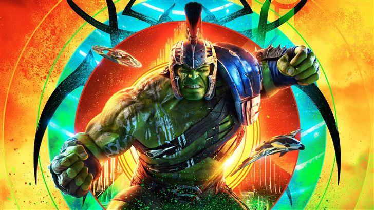 hulk thor ragnarok 12k Mac Wallpaper