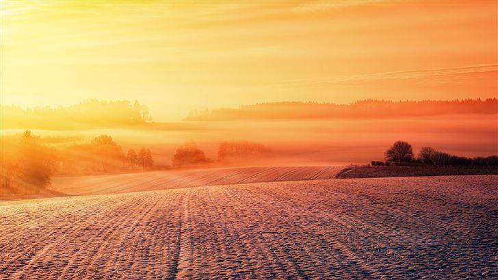dusk dawn evening 5k Mac Wallpaper