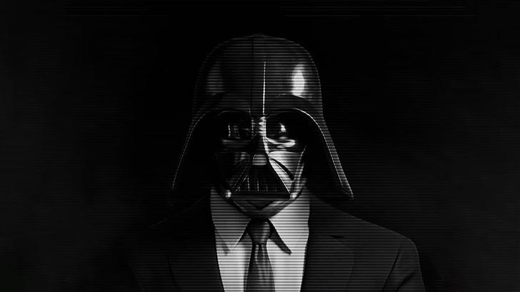 darth vader star wars dark 5k Mac Wallpaper