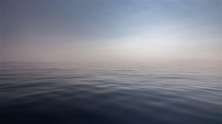 silence sea water 5k Mac Wallpaper