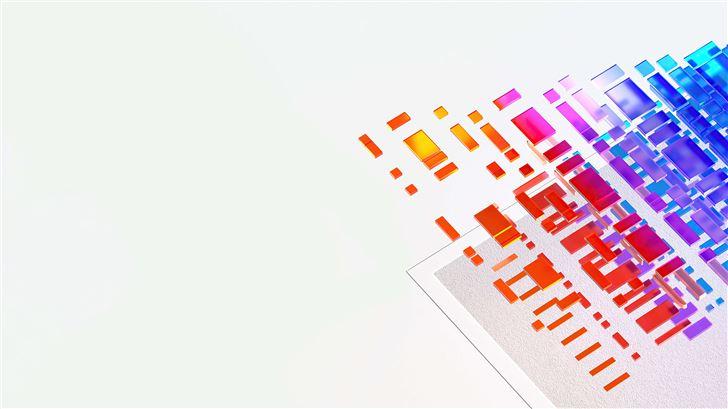 microsoft build 2021 abstract 5k Mac Wallpaper