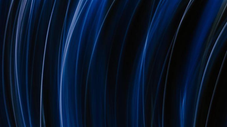 blue white light illsutration 5k Mac Wallpaper