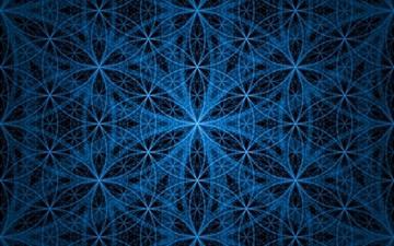 Blue Circles background Mac wallpaper