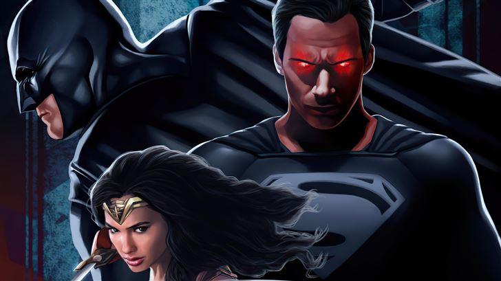 justice league the snyder verse Mac Wallpaper