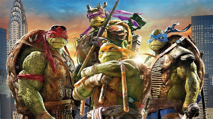 teenage mutant ninja turtles movie 8k Mac Wallpaper
