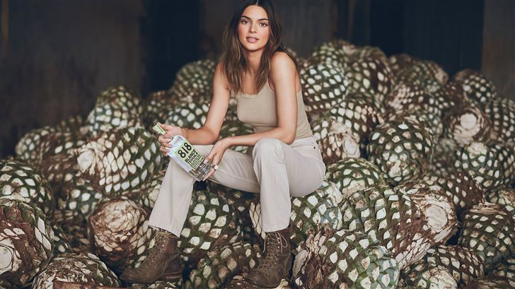 kendall jenner photoshoot for blanco tequila Mac Wallpaper