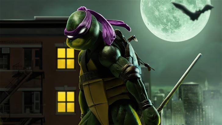 donatello teenage mutant ninja turtles 5k Mac Wallpaper