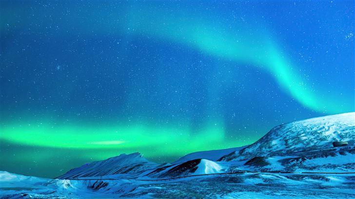 polar lights aurora Mac Wallpaper