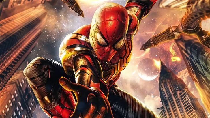 spiderman no wayhome 5k Mac Wallpaper