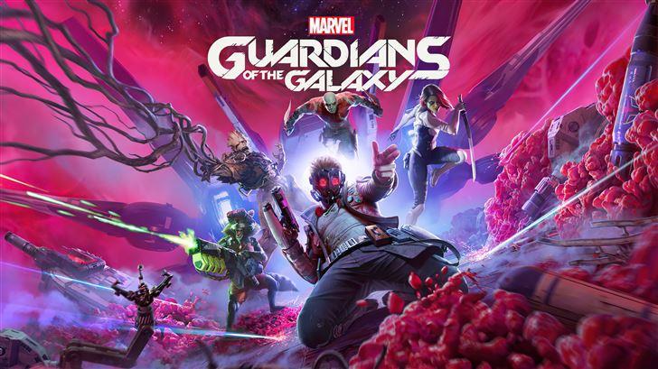 guardians of the galaxy marvel 8k Mac Wallpaper