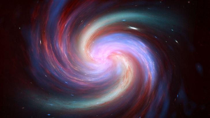 galaxy spirit 5k Mac Wallpaper