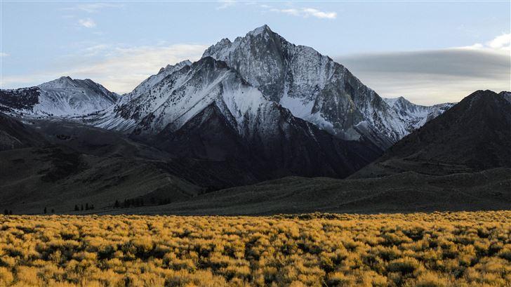 sierra nevada range in summer Mac Wallpaper
