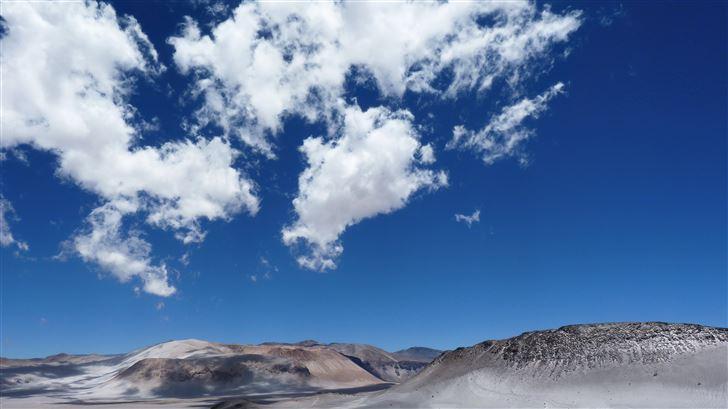 desert mountains countryside arid land 8k Mac Wallpaper