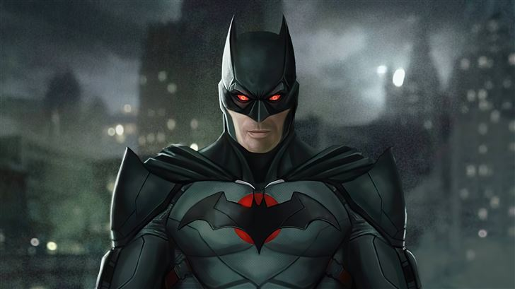 thomas wayne batman 5k Mac Wallpaper