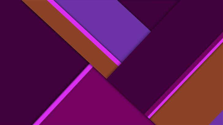 purple pink material design 8k Mac Wallpaper